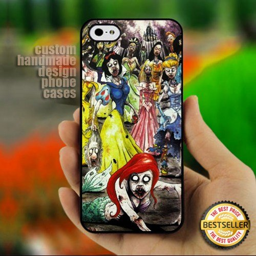 Disney Princess Zombie Collage