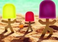 Lollypop Stick Men Popsicle Molds