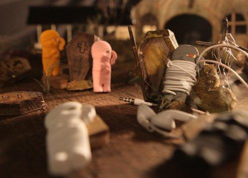 Mummy Wrap Wire Organizer