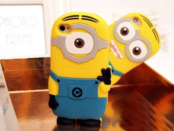 Minions Silicone iPhone Case