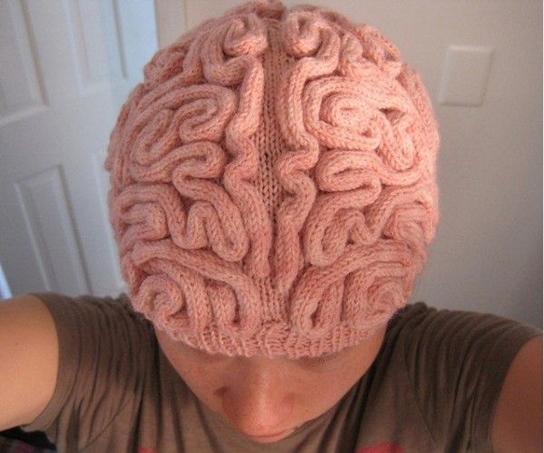Wool Brain Hat