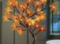 Lighted Maple Tree