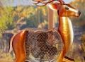 Deer Figurine Fan