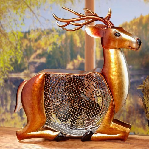 Deer Figurine Fan