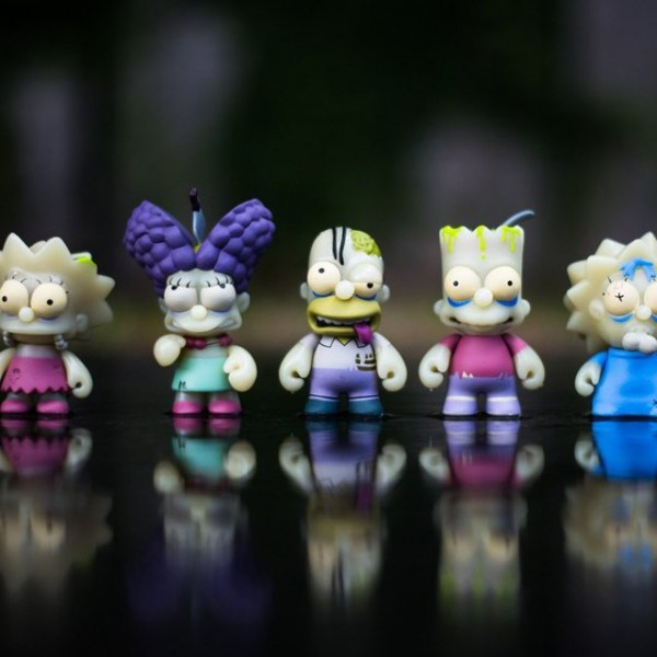 The Simpsons Zombie Pack