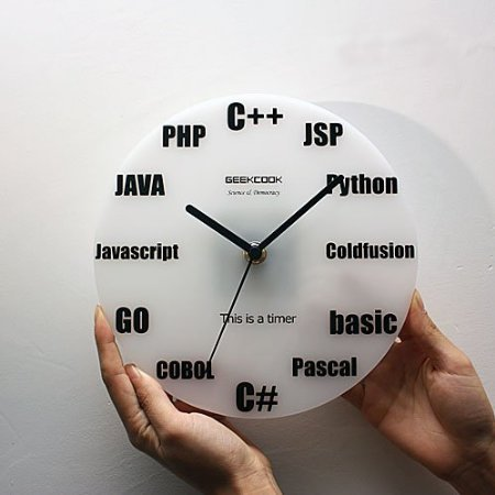 Wall Clock Program Language