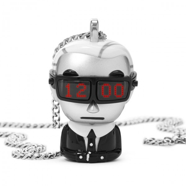 Digital Necklace Watch