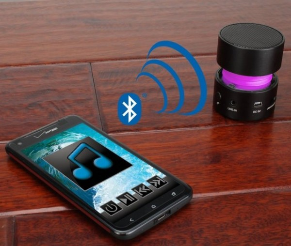 Glowing Bluetooth Speaker