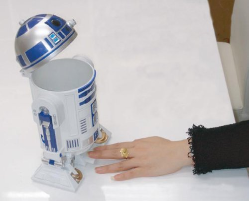 R2D2 Desktop Trash Can