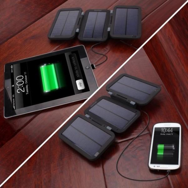 Active Charging Solar Panels