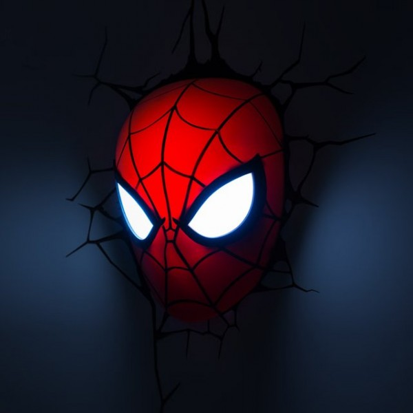 Spider-Man Mask  Light