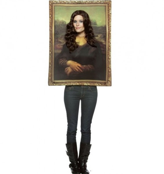 Mona Lisa Frame Adult Costume