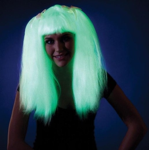Glow In The Dark  Wig
