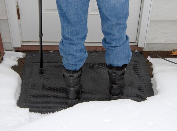 Ice-Away Heated Snow Melting Mat