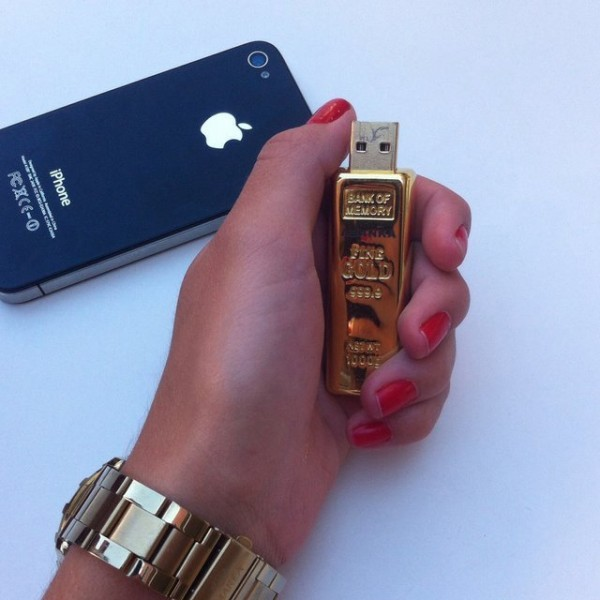 Gold Brick USB