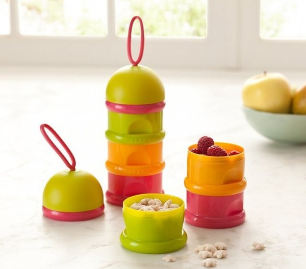 Stackable Formula & Snack Containers