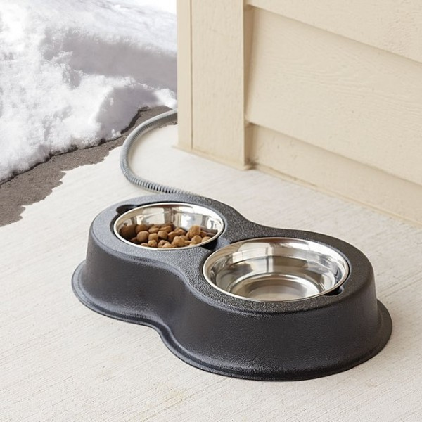 Heated Outdoor Cat Bowls