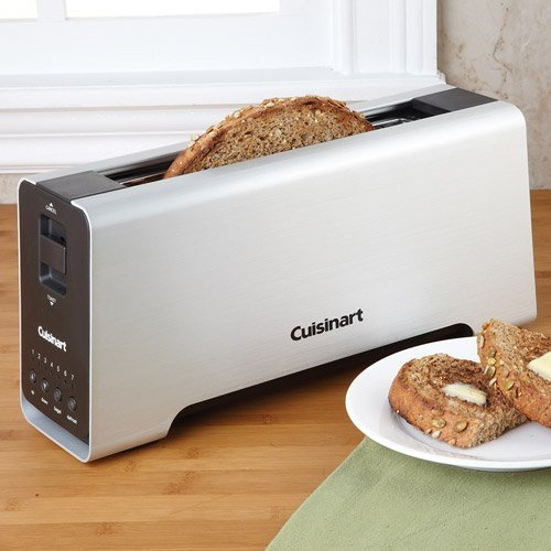 Aluminum Long Slot Toaster