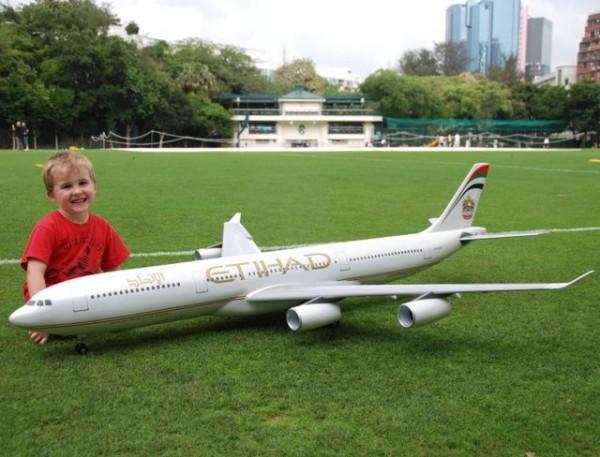 Radio Control Electric Airbus Jet Plane