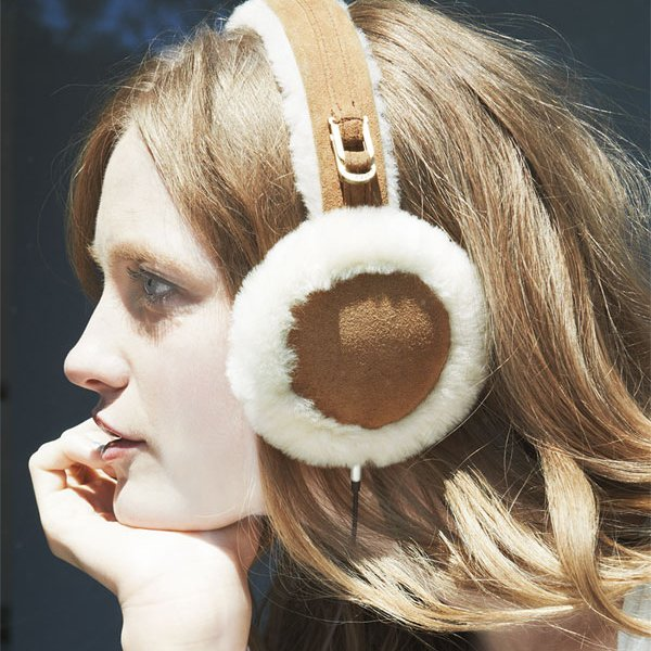 Leather & Shearling Tech Earmuffs