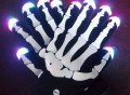 Skull Gloves Colorful Flashing