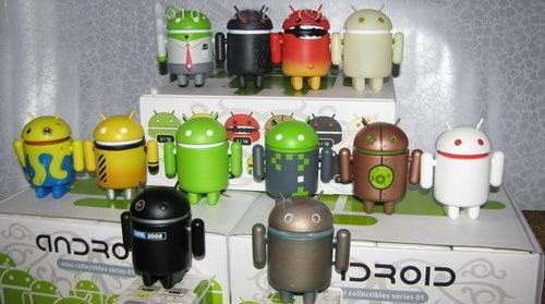 Google Android Mini Collectible Figures