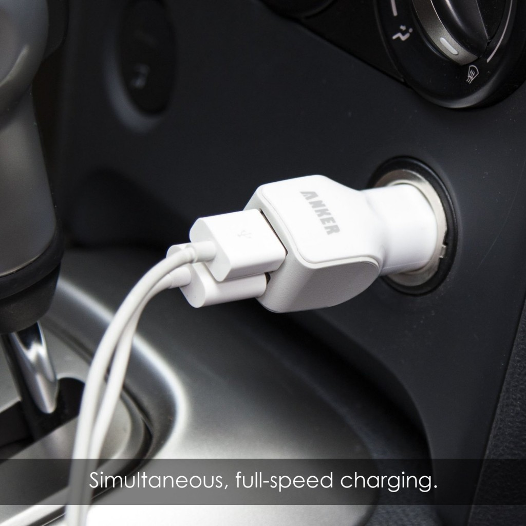 Anker Dual-Port USB Car Charger