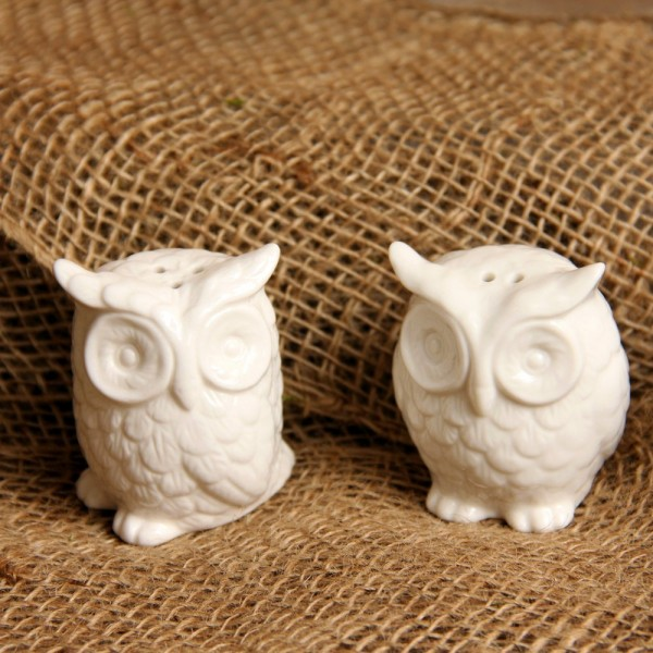 Owl Salt Pepper Shakers