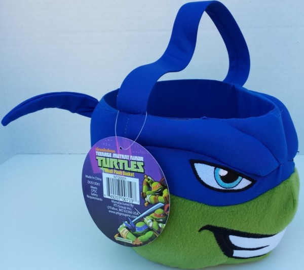 Ninja Turtles Candy Basket