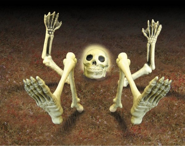 Restless Bones Halloween Decoration