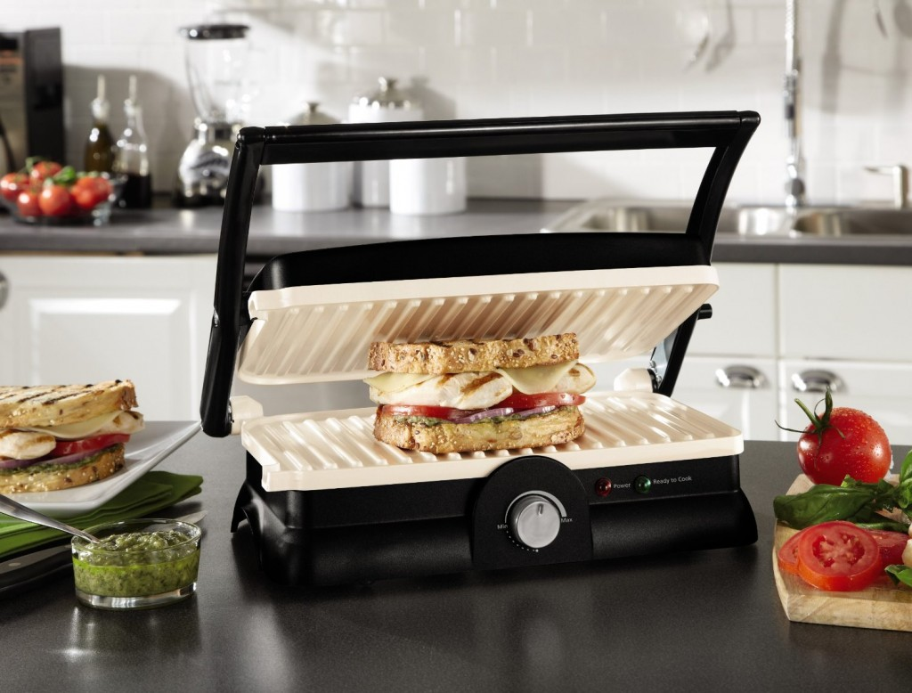 Oster DuraCeramic Panini Maker and Gril