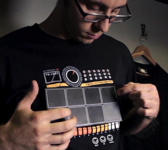 Electronic Drum Machine Shirt