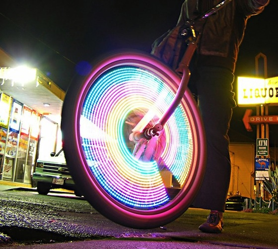 LED Bike Wheel Lights by MonkeyLectric