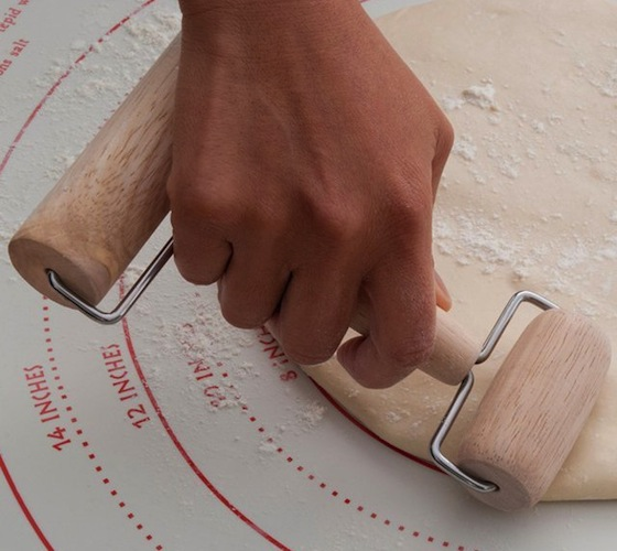 Wooden Pastry and Pizza Roller