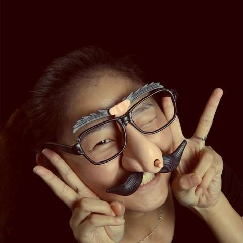 Funny Glasses with Big Nose