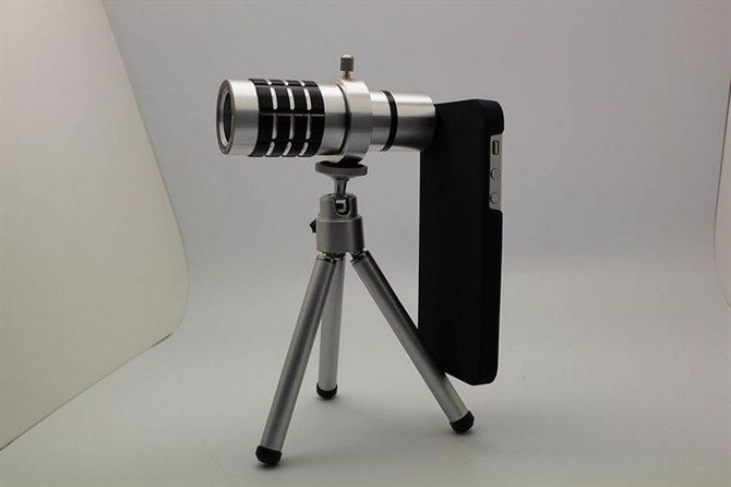 Telephoto Lens Tripod for iPhone 5