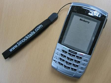 Bev-Burry Phone Flask