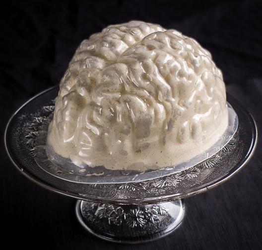 Human Brain Gelatin Mold