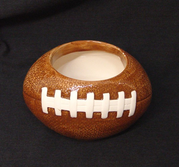 Ceramic Football Planter