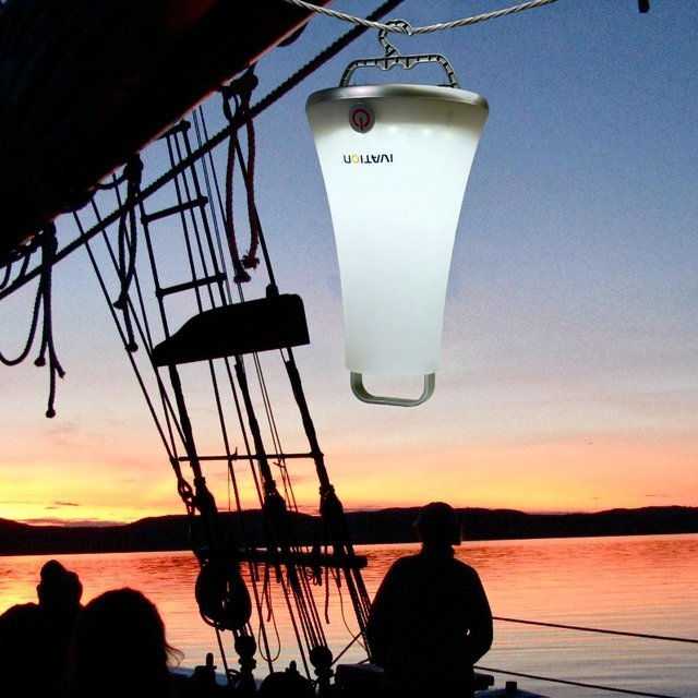 Super-Bright 16-LED Dimmable Rechargeable Lantern