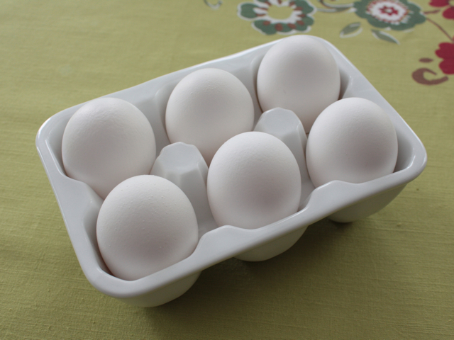 Ceramic Egg Crate