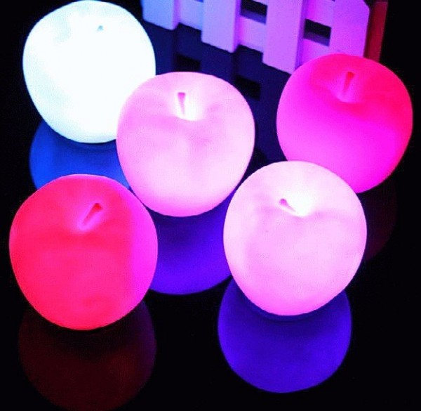 Apple Party Candle Light Lamp