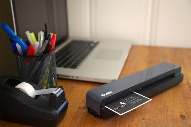 Rechargeable Mobile Scanner