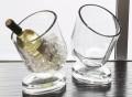 Slanted Wine Chiller by DwellStudio