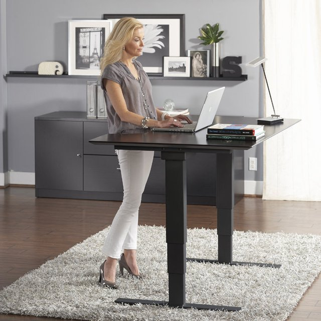 Jesper Height-Adjustable Sit & Stand Desk