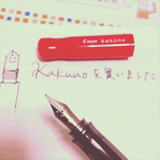 Pilot Kakuno Smiling Fountain Pen