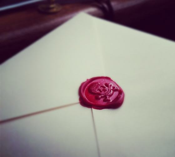 Skull & Crossbones Wax Seal