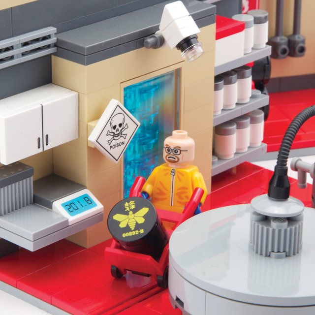 Breaking Bad Superlab Playset