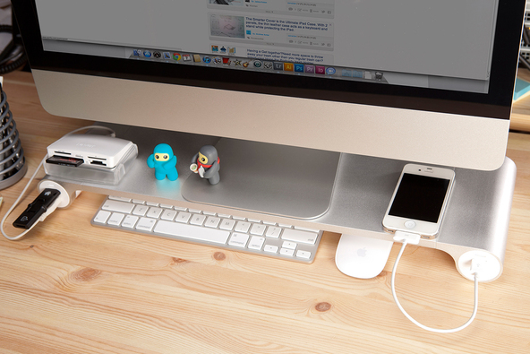 The Space Bar Desk Organizer