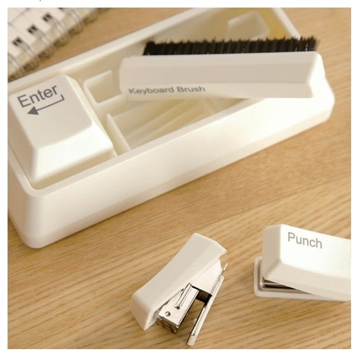 Keyboard Stationery Desk Set